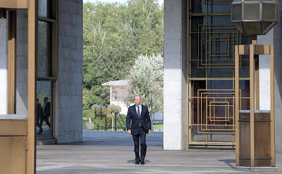 Russian President visited polling station No. 2151 in Moscow's Gagarinsky District.