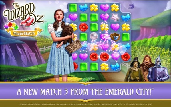 The Wizard Of Oz: Magic Match Mod Apk v1.0.2214 (Infinite Lives/Boosters)