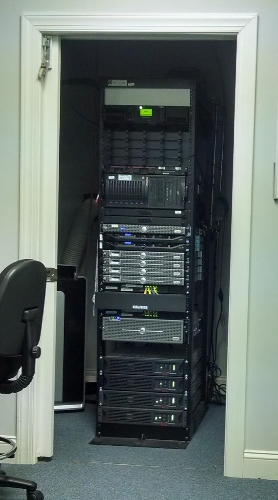 Small Business It Manager Blog Cooling A Small Server Room