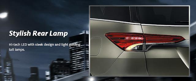 Desain Lampu Belakang New Toyota Fortuner