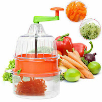 Manual Spiral Plastic Vegetable Slicer