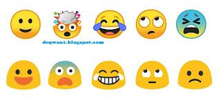 android o google emoji terbaru