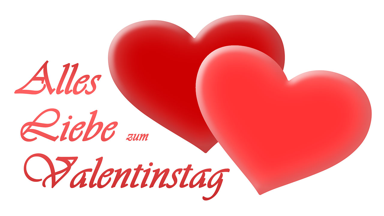 Schön Alles Liebe Zum Valentinstag