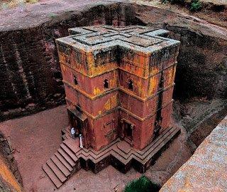 Αιθιοπία: Ο μυστηριώδης ναός του Αγίου Γεωργίου που χαρακτηρίζεται ως το «Όγδοο Θαύμα του κόσμου»