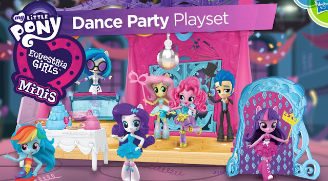 Equestria Girls Mini Dance PArty Playset