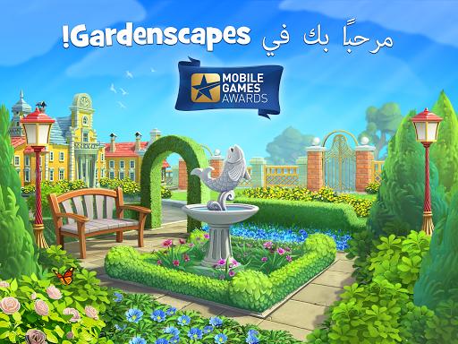 تحميل لعبة gardenscapes مهكرة 2019