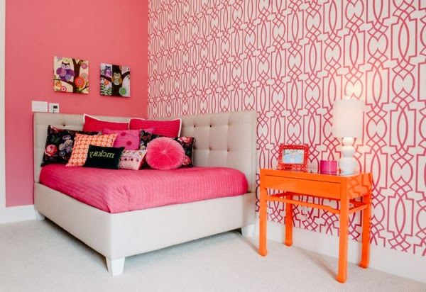Dormitorios fucsia para ni as dormitorios colores y estilos for Disenos de cuartos para ninas adolescentes