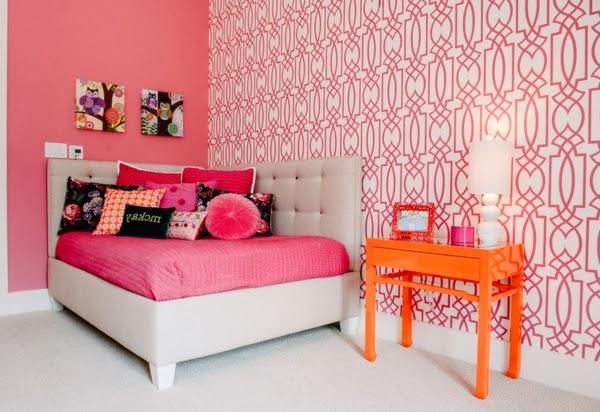 Dormitorios fucsia para ni as ideas para decorar dormitorios - Decoracion paredes habitacion nina ...