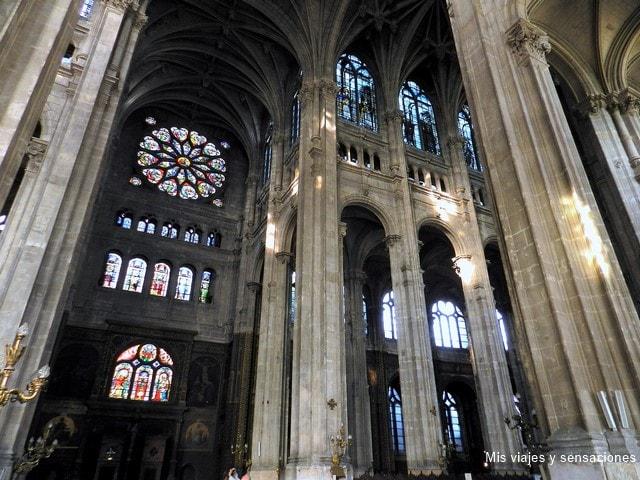 Iglesia Saint Eustache, París, Francia