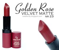 http://natalia-lily.blogspot.com/2015/05/golden-rose-velvet-matte-lipstick-nr-23.html