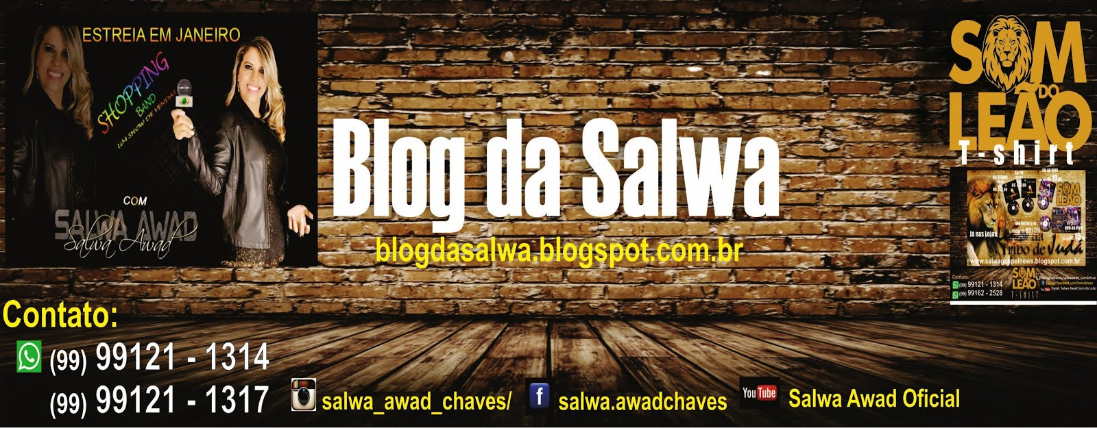 Blog da Salwa - Shop Band by Salwa Awad