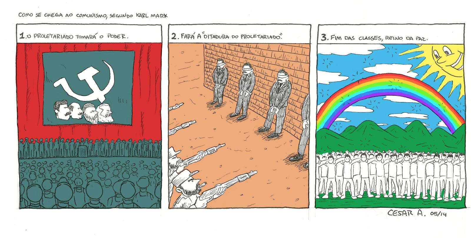 Comunismo explicado, por Cesar Andrade