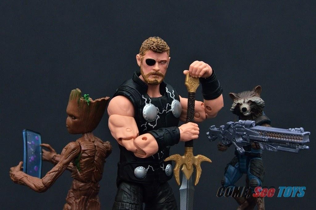Marvel Legends Teen Groot de AVENGERS INFINITY WAR-TRU 3 Pack Exclusif
