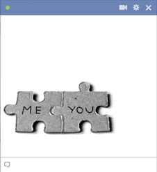 Me - You Puzzles Emoticon