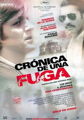 Cronica De Una Fuga 2006 DVD R4 NTSC Latino