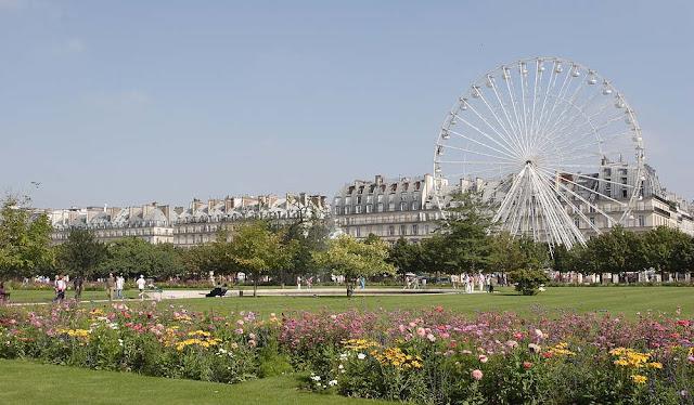 Ogród Tuileries w Paryżu