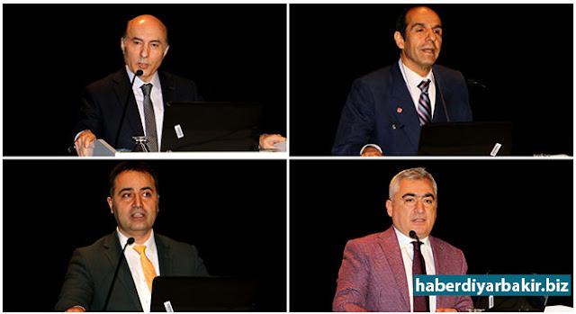 DİYARBAKIR-Diyarbakır İl Milli Eğitim Müdürlüğü ile Dicle Üniversitesi arasında imzalanan 'Hizmet içi Eğitim İşbirliği Protokolü'nün tanıtım toplantısı Dicle Üniversitesi Kongre Merkezi Toplantı Salonunda gerçekleştirildi.