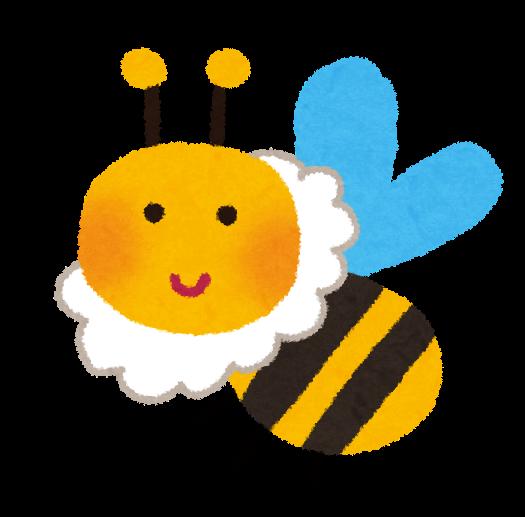 ミツバチのイラスト | かわいいフリー素材集 いらすとや