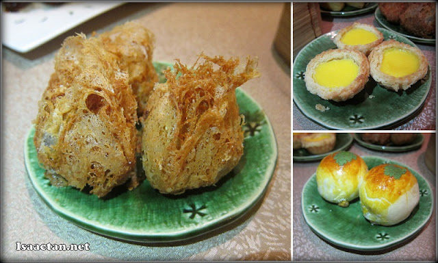 Deep Fried Yam Puff, Egg Tarts, and more ..