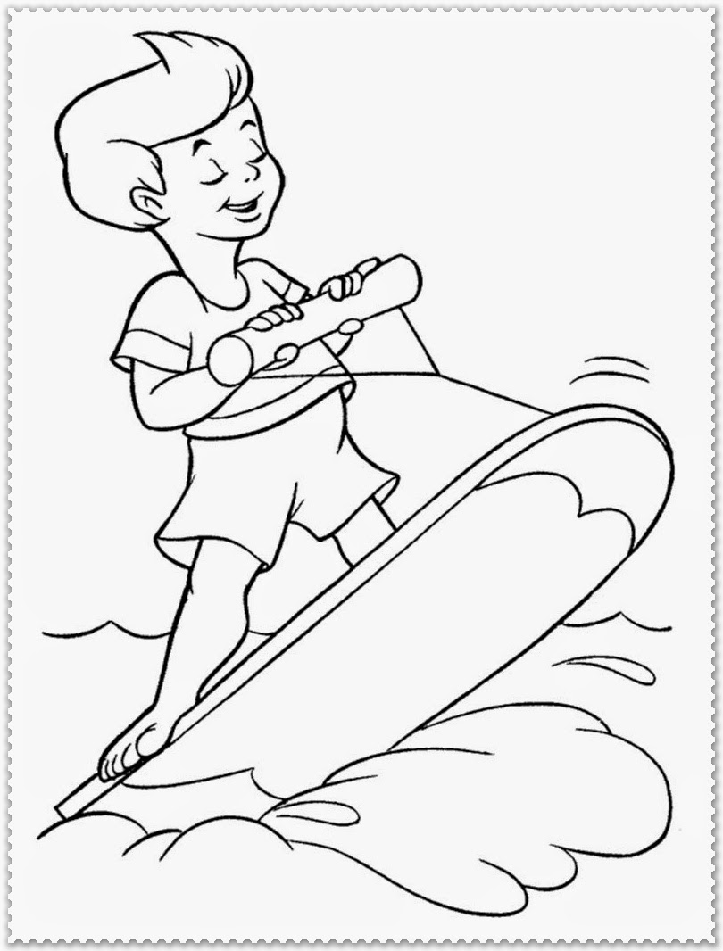 Summer Coloring Pages Realistic