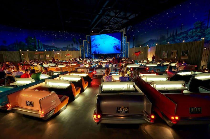 Sci-fi Dine-in Theater, Disney's Hollywood Studios