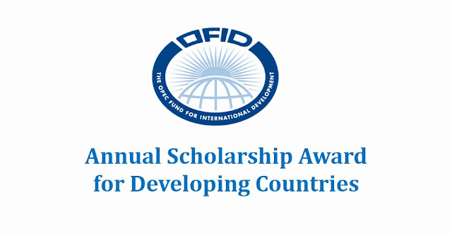 OFID Scholarship Award for Developing Countries 2017