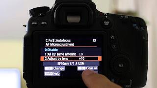 Masalah Canon Eos 70D Miss Focus