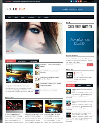 Soloris Magazine Blogger Template , free download Soloris Magazine Blogger premium , Soloris Magazine Blogger TemplateTemplate , Soloris is a free premium download