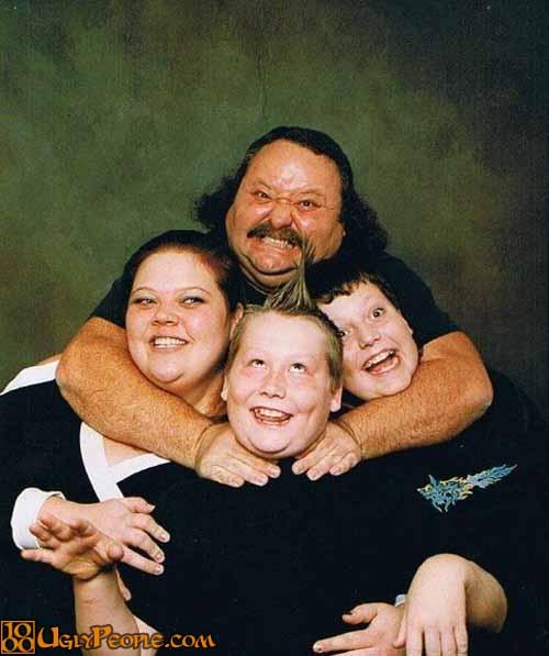 foto keluarga paling unik di dunia