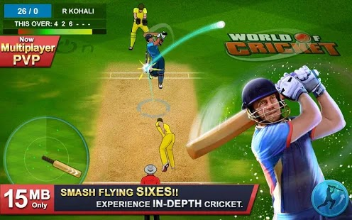 World of Cricket: World Cup 2019 Apk Mod Free on Android Game Download