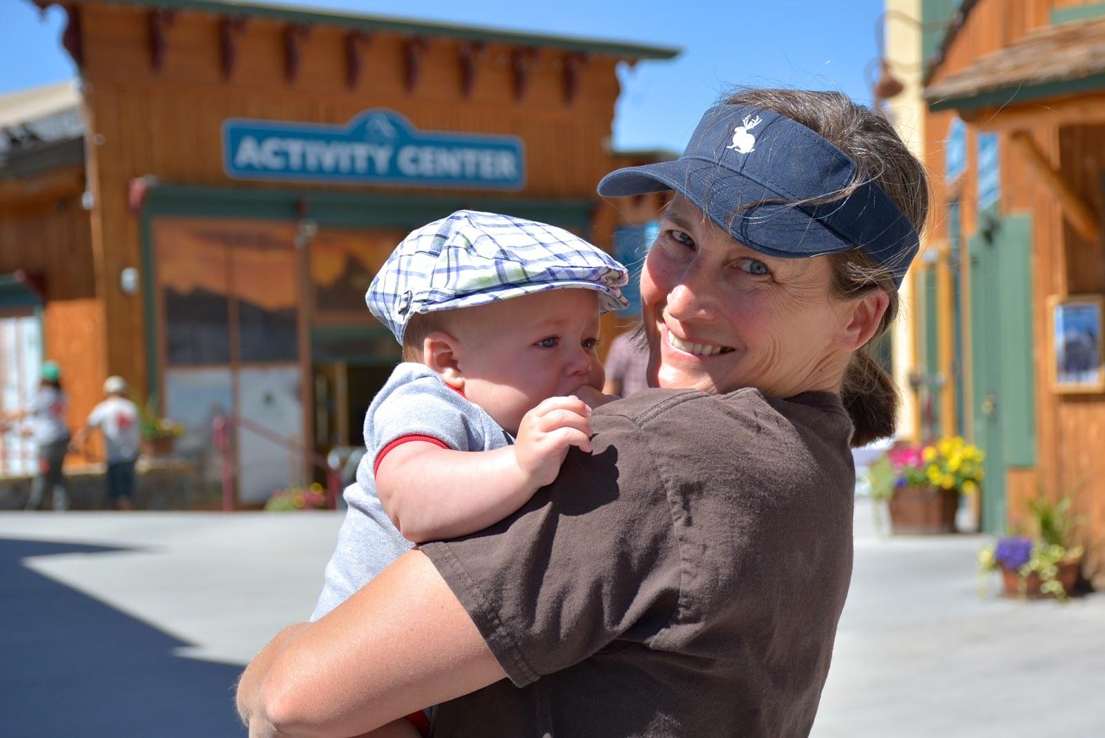 Rachel with Finley