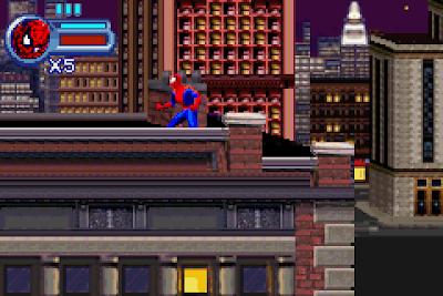 【GBA】蜘蛛人:密斯特里奧的威脅繁體中文版,經典英雄電影改編遊戲!
