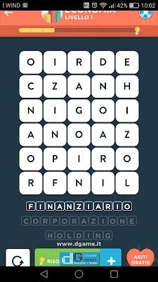 WordBrain 2 soluzioni: Categoria Economia (5X6) Livello 2