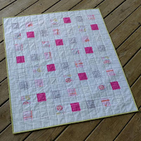 Quilt as you go baby quilt