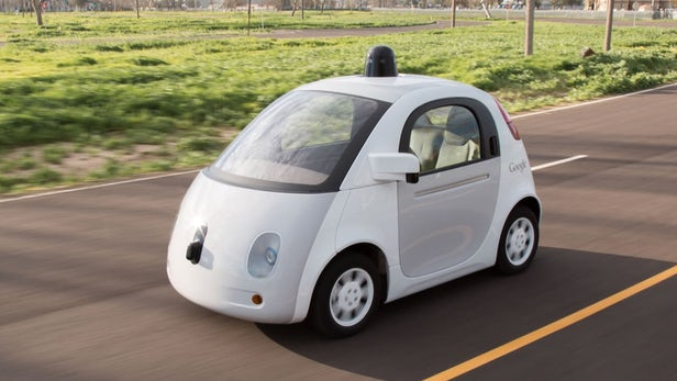 Learning curve for Google during two million miles of autonomous car