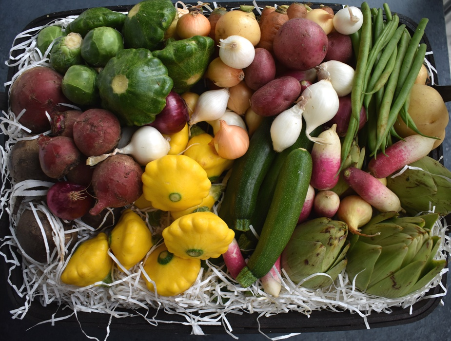 Melissa's Produce Baby Vegetables Basket