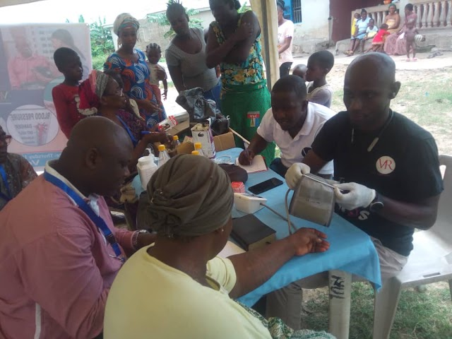 URBC Partners Vickie Robert Foundation, Gives Free Medicals In 3 Communities