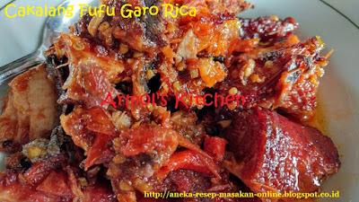 ikan cakalang fufu garo rica khas Manado