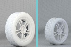 Tutorial membuat roda ban di Blender 3d