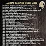 Jadual Kuliah Ustaz Azhar Idrus  (UAI) Ogos 2019