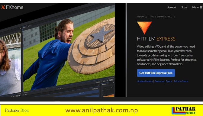 best free video editing software for pc hit film express