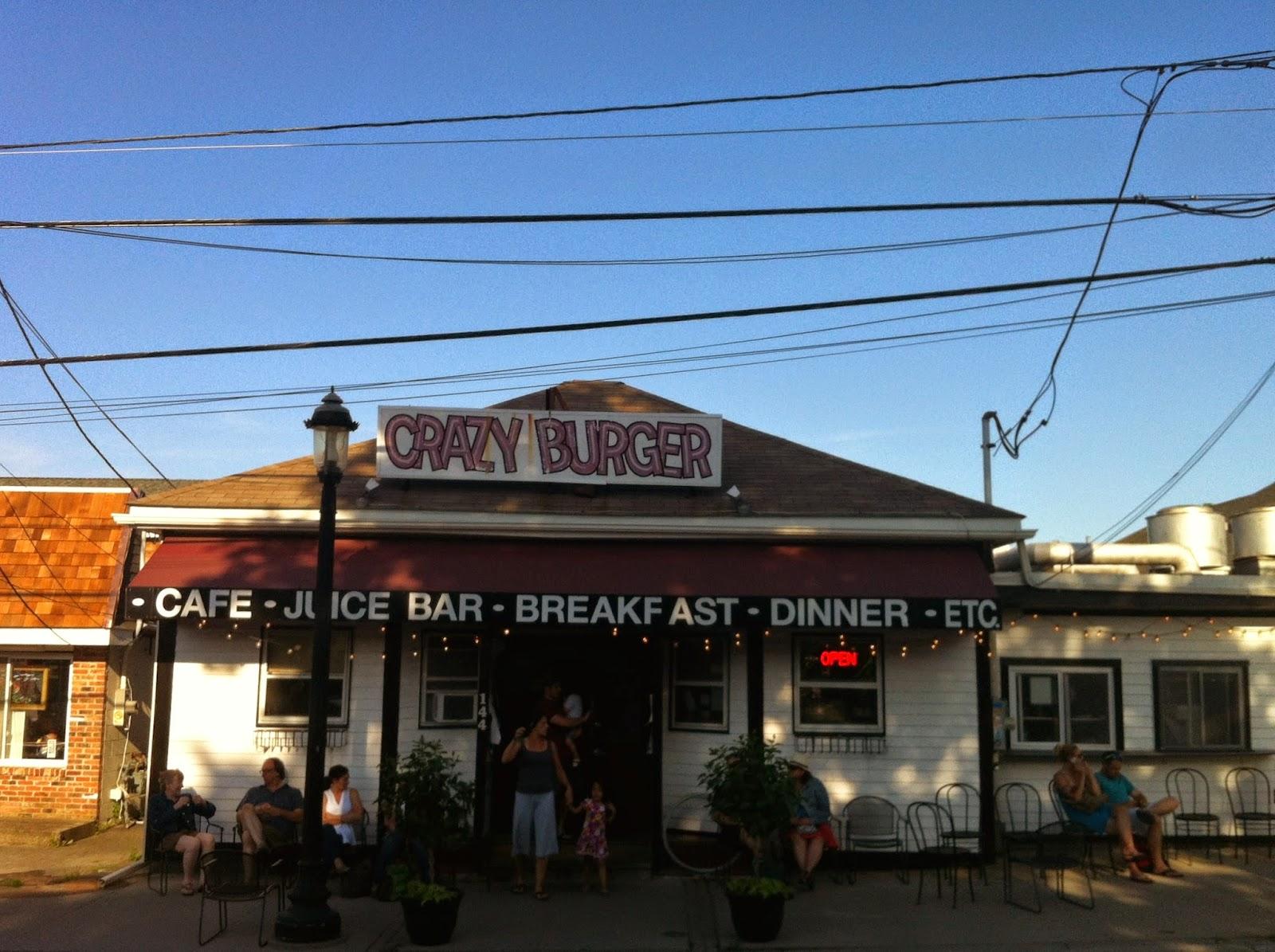 crazy burger in narragansett, rhode island