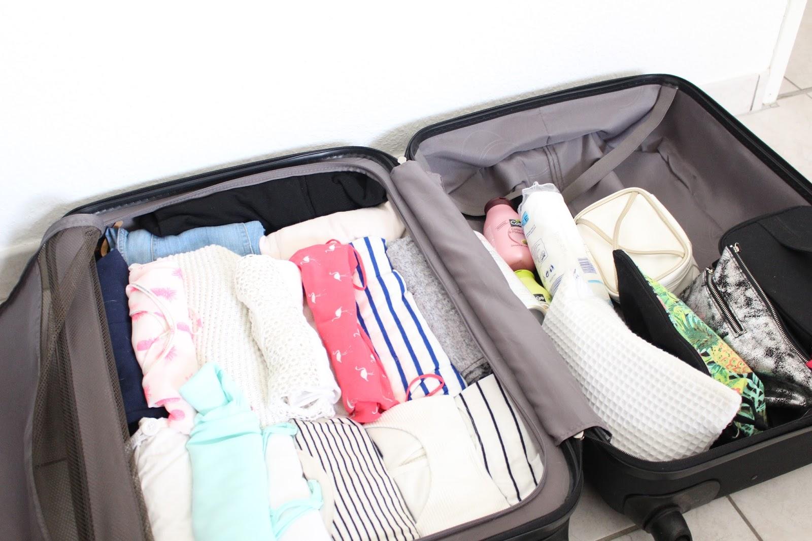 bien pr parer ses vacances au soleil 2 gagner de la place dans sa valise les id es soaddict. Black Bedroom Furniture Sets. Home Design Ideas