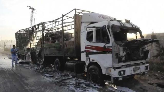 Convoy Humanitario Siria