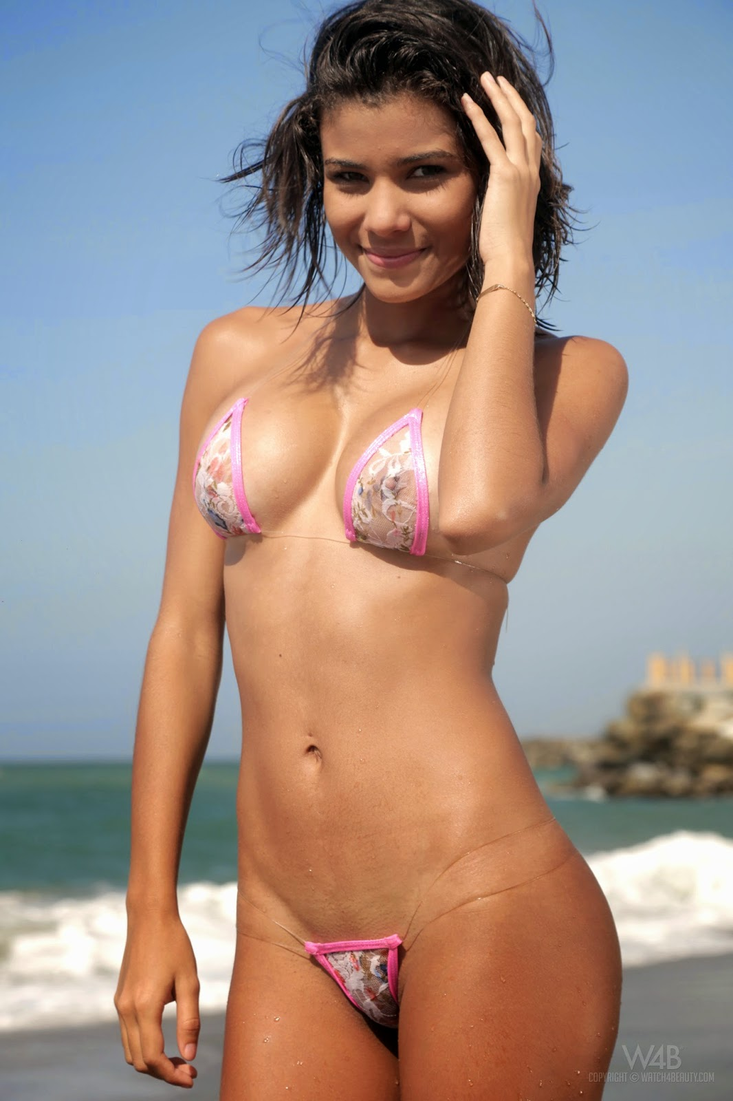 Watch4Beauty Cecilia Mini Bikini Photo Set And HD Video