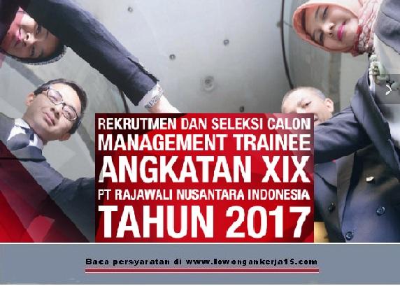 Lowongan Kerja   PT Rajawali Nusantara Indonesia (Persero) Tingkat D3 S1  Agustus 2018