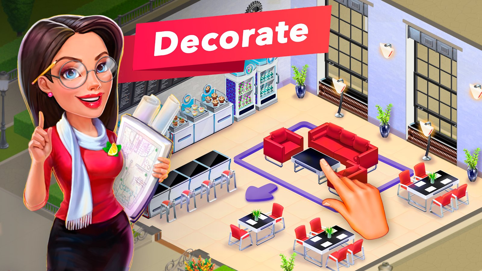 My Cafe Restaurant Game Mod Apk Download For Android -3100