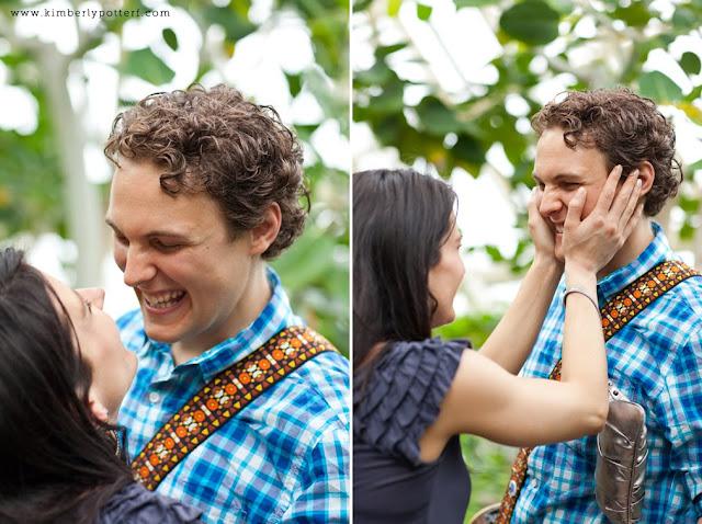 Matt + Shannon - Proposal at Franklin Park! 18