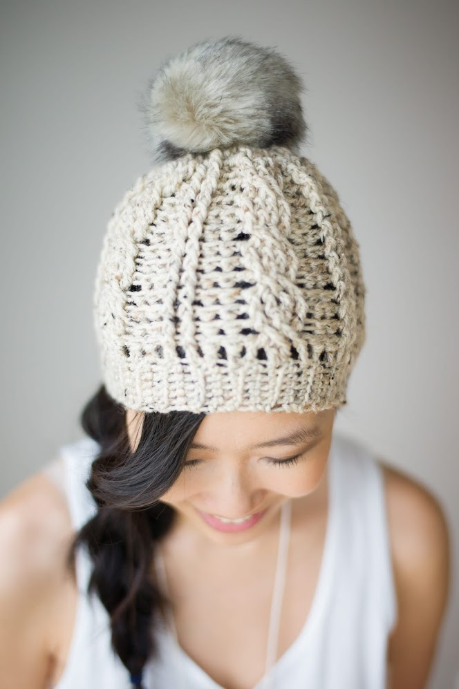 Beautiful Crochet Cable Projects: Cabled Beanie