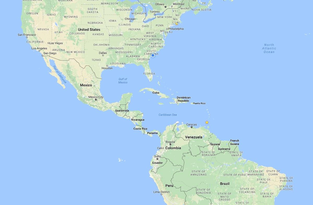 Administrative Map Of Dominican Republic Nations Online Project - Map of us and dominican republic